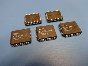 New 10 Pcs X28HC256JM-15 XICOR 5V BYTE ALTERABLE EEPROM