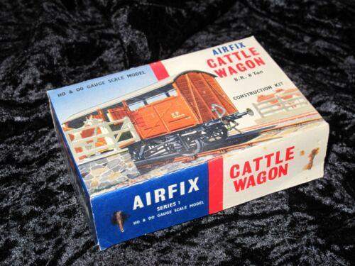Airfix 00 Modell Set Rinder Waggon Nicht Zusammengebautes in Selten Typ 2 Box
