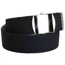 Stretch Gürtel Stretchgürtel Elastikgürtel schwarz Rollkoppel bis XXL Überlänge