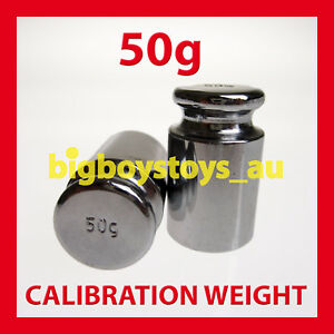 50g CALIBRATION WEIGHT FOR DIGITAL SCALE SCALES 50 gram grams g