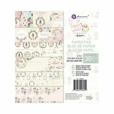 Prima Sugar Cookie Collection 6 X 6 Paper Pad 996451 655350996451 Ebay
