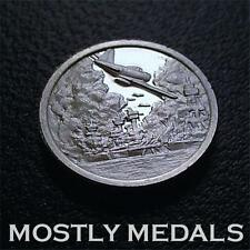 Franklin Mint STERLING SILVER Mini-Ingot 1941 PEARL HARBOR ATTACK - UNCIRCULATED