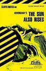 Notes on Hemingway's  Sun Also Rises by Gary Carey (Paperback, 1964)