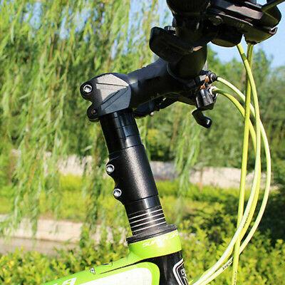 black, 28.6 mm Guanici Bike Height adapter Bike Handlebar Riser Bicycle Fork Stem Raiser Extender Head Up Raiser Adjustable with Allen key for cycling mountain bike handlebars Aluminum alloy