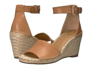 Vince-Camuto-Leera-Ankle-Strap-Espadrille-Wedge-Sandals-Tan-Multiple-Sizes