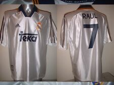 "España España Raul Camiseta Jersey Fútbol Adidas Adulto Xl 46"" Real Madrid"
