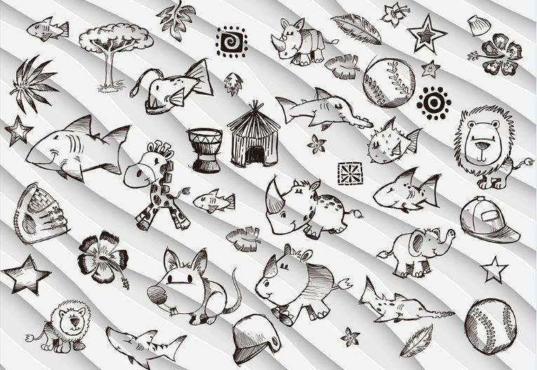 3D Niedliche Tiere Malerei 9 Tapete Wandgemälde Tapete Tapeten Tapeten Tapeten Bild Familie DE  | Erste Kunden Eine Vollständige Palette Von Spezifikationen  | Passend In Der Farbe  | Langfristiger Ruf  cb9e68
