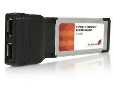 StarTech.com 2 Port ExpressCard IEEE-1394 Firewire Card
