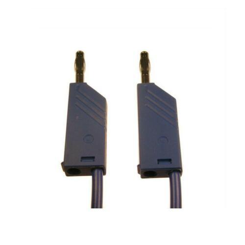 Messleitung 4mm Bananenstecker MLN100//2,5 Hirschmann MLN 100//2,5 blau 067541