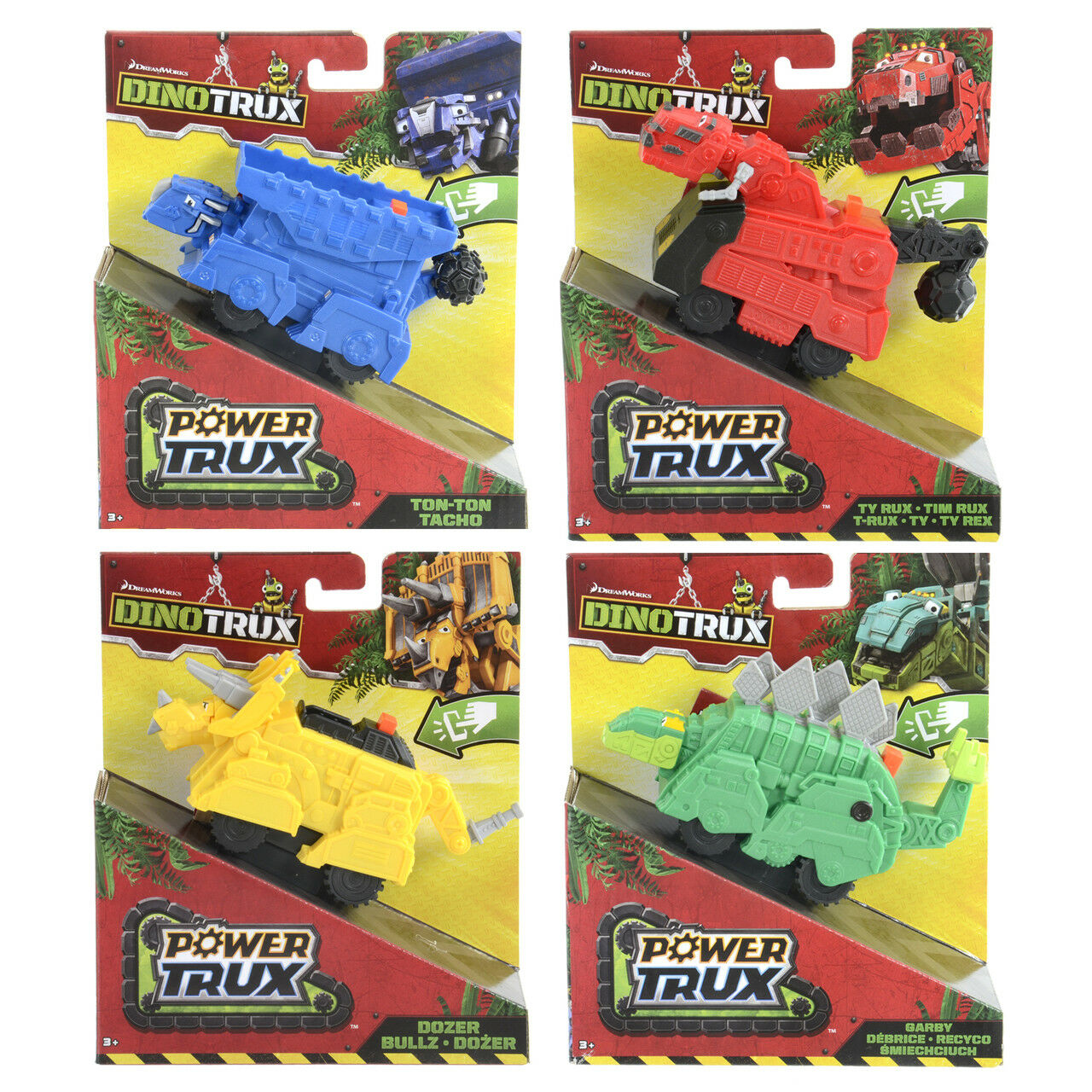 DINOTRUX DIE CAST POWER TRUX CHARACTER FIGURE VEHICLE OFFICIAL TOYS NEW GENUINE