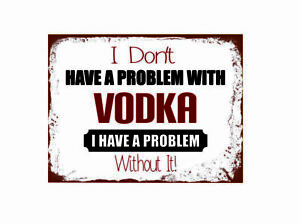 10953 I don/'t have a problem with sex I have a problem metal wall plaque sign