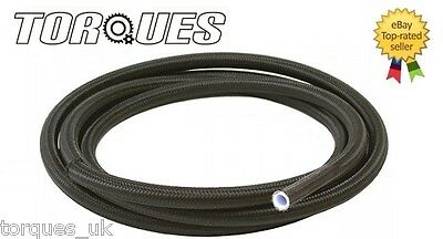"AN -6 (8mm 6AN) 5/16"" NYLON Braided PTFE / Teflon Fuel Hose 0.5m"
