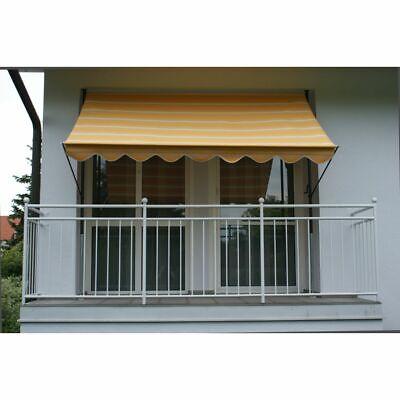 KüHn Exklusive Klemmmarkise Markise Sonnenschutz Gelb-beige Neu/ovp