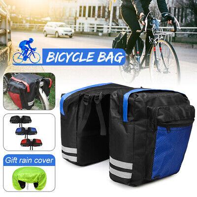 20L 600D Bike Bicycle Rear Rack Seat Saddle Bag Pannier Tail Durable Bags USA