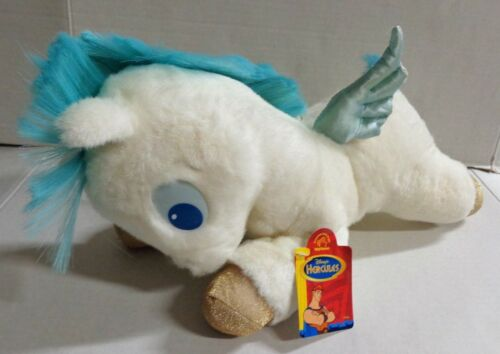 "Applause Disney Hercules Baby Pegasus Plush Spike Blue Hair 13"" with Tags"