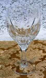 Gorgeous-Set-of-4-Of-Heavy-Cut-Crystal-Stemware-Wine-Goblets