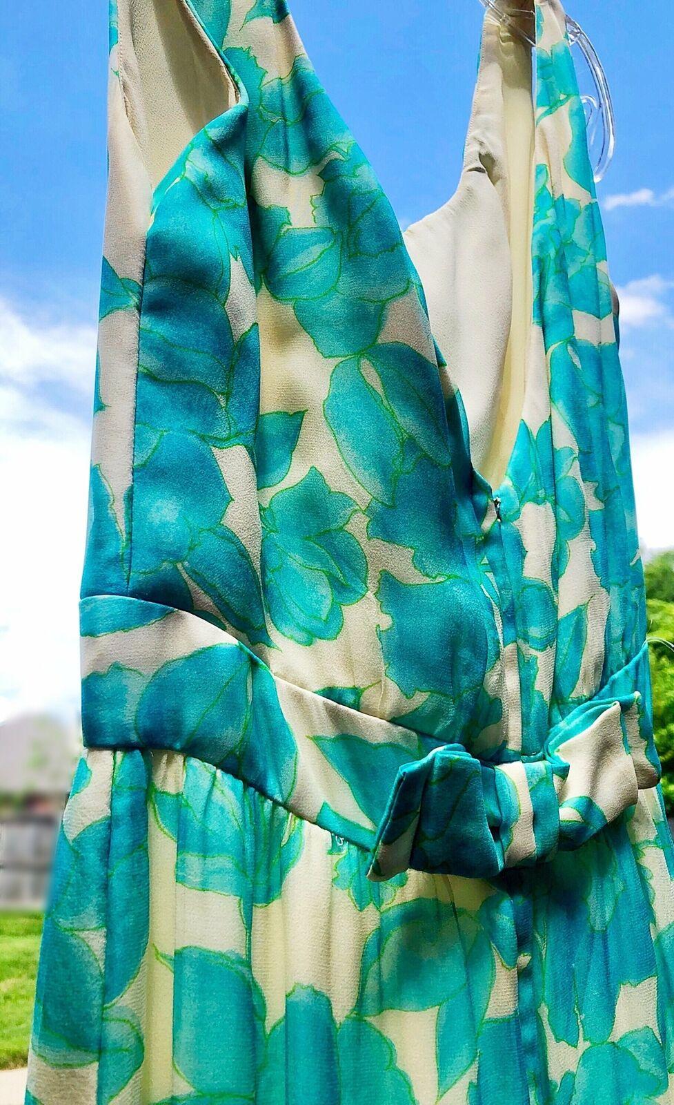 Vintage Lee Claire Maxi Dress - image 2