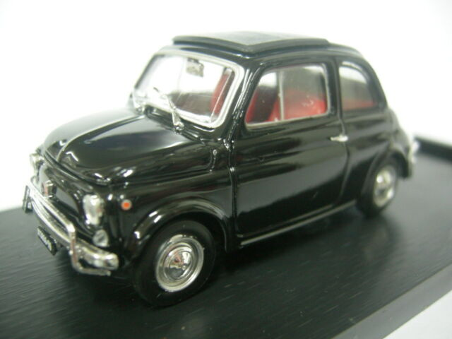 Fiat 500L Nero Brumm 1:43 R465-12 Modellino Auto Diecast