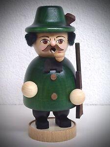 Fumador-Original-Erzgebirge-Cazador-15cm-Figura-Humeante-raachermannl-15142