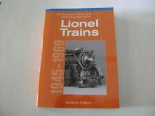 Greenberg's Repair and Operating Manual for Lionel Trains, 1945-1969 by Roger Carp (1998, Trade Paperback)