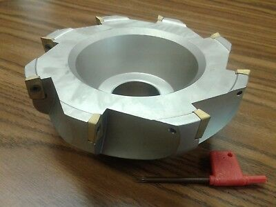 "3/"" 90 degree indexable face shell mill,face milling cutter APKT #Z-2526-4025"