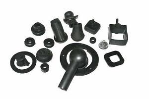 Black-Rubber-Grommet-Kit-Vespa-Lml-Px-P150-Pe-Star-Stella-Sportique-T5