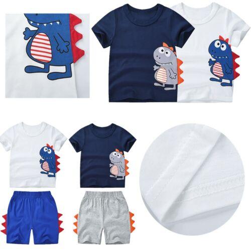 Shorts Outfits Set 2PCS Toddler Kids Boys Summer clothes Short Sleeve T-Shirt