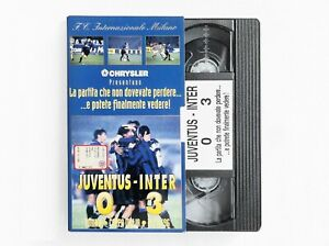 VHS-F-C-Inter-Juventus-Inter-0-3-Coppa-Italia-13-11-1996