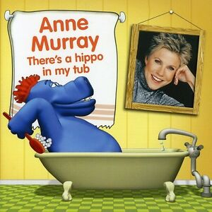 Anne-Murray-There-039-s-a-Hippo-in-My-Tub-New-CD-Canada-Import