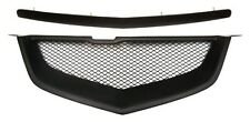 Acura TL 07 08 2007 2008 Type S Hood Molding Front Bumper Mesh Grill Grille