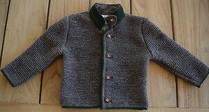 4ddfe89785 Das Bild wird geladen Kinder-Trachten-Jacke-Gr-80-176-Strickjacke -Trachtenjanker-