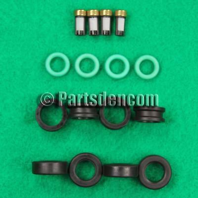 Fuel Injector O-Ring Filter Kit for Mitsubishi Eclipse 2.0L Turbo 1990-1999