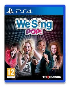 We-Sing-POP-pour-PS4-NEW-amp-SEALED