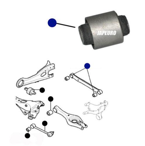 FOR KIA CEED 06-11 REAR UPPER TOP TRAILING CONTROL ARM ROD BUSH BUSHING x2