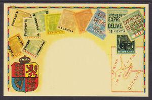 Zieher unused 1980 PPC. Stamps of Mauritius, Embossed