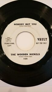 45 RPM Northern Soul Nobody But You, Wooden Nickels, Vault VG++ DJ copy
