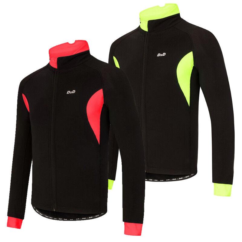 D2D Men's 4Season Roubaix Long Sleeve Cycling Jersey  'D2D+' Plus Sized Version
