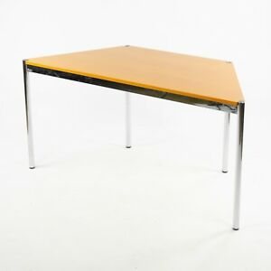 Image Is Loading USM Haller Beech Wood Trapezoid Table Modular 1500x740
