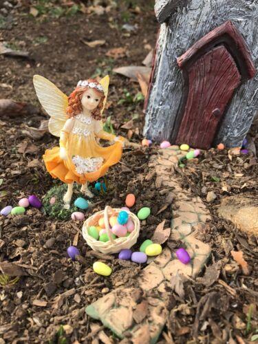 Miniature Dollhouse Eggs Fairy Garden Eggs 12  Loose EASTER Eggs 1:12 Scale