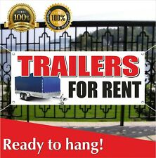Trailers For Rent Banner Vinyl Mesh Banner Sign Lease Free Shipping Many Sizes