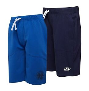 Garcons-Skechers-Imprime-Elegant-Boucle-Jersey-Shorts-Tailles-Age-De-4-To-13-ans