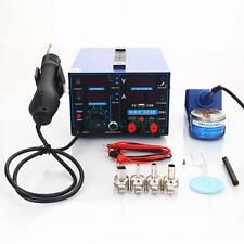 YiHUA-853D 15V 2A 3in1 Electric USB Rework Soldering Station Hot Air Gun SMD Kit