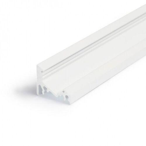 LEDsikon® LED Aluminium Eckprofil CORNER10 2m weiß Innenmaß:10mm LK#522399