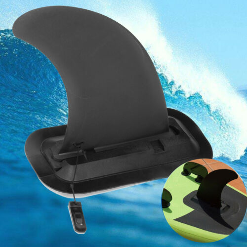 9/'/' PVC Center Surfboard Surf Fins Stand Up Paddle Board Detachable Fin US