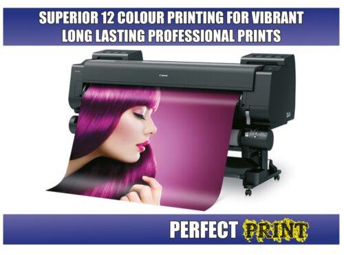 POSTER PRINTING Gloss Satin Matt PVC Canvas A0 A1 A2 A3 A4 Personalised Print