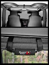 Haltegriff Set Grab Handle Kit Black Jeep Wrangler YJ TJ Rugged Ridge 12495.10