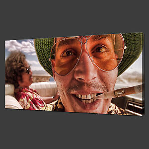 f2038ab775f2 FEAR AND LOATHING IN LAS VEGAS PICTURE POSTER CANVAS PRINT 30 X 16 ...