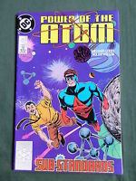 DC COMIC - POWER OF THE ATOM  -  MAY  1989  - #12