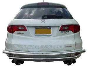 vanguard 07 12 acura rdx rear bumper protector guard double layer s rh ebay com 2011 Acura RDX White 2013 Acura RDX