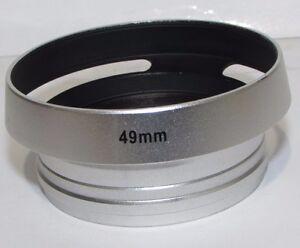 Used-49mm-Lens-Hood-metal-screw-in-type-vented-S232254